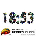 SNK SHOOTING 『HEROES』 CLOCKブログパーツ